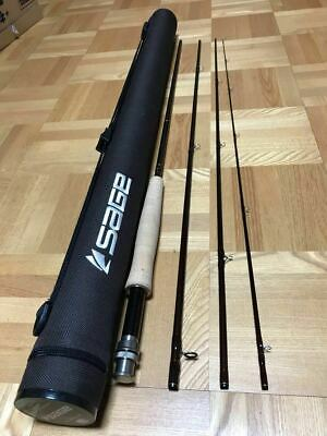 $540 • Buy SAGE Response 696-4 9'6  #6 4Piece Fly Rod Fishing With Case F/S