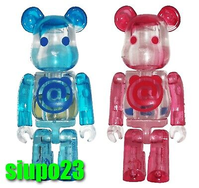 $89.99 • Buy Medicom 100% Bearbrick ~ PEPSI Be@rbrick 2004 Boyz & Girlz 2pcs