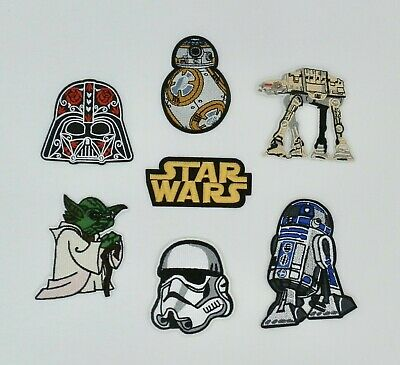 Star Wars Design Iron On Embroidered Applique Patches • 1.99£