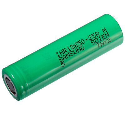 $ CDN398 • Buy Wholesale Lots. Samsung INR 18650 25R Batteries. Rechargeable 2500 MAh Battery
