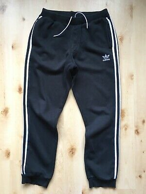 $ CDN31.30 • Buy Adidas Originals ! Mens M 32-34 ! Cuffed Joggers Sports Sweat Fleece Track Pants
