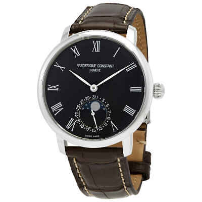 $995 • Buy Frederique Constant Moonphase Automatic Black Dial Watch FC-705GR4S6