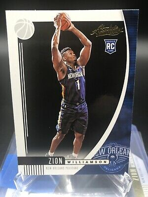 $18.95 • Buy ZION WILLIAMSON 2019 2020 Panini Absolute RC Rookie Card Pelicans