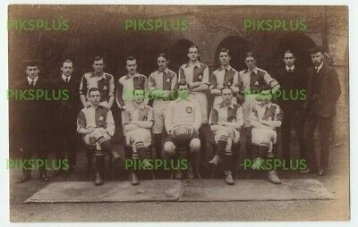 Old Postcard St Marks College Football Team Chelsea London Real Photo 1911  • 6.99£