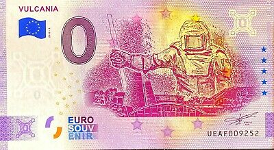 Ticket 0 Euro Vulcania Anniversary France 2020 Number Various • 5.87£