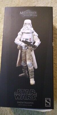 $ CDN281.45 • Buy Sideshow Collectibles Star Wars SNOWTROOPER 16 Scale Figure Hot Toys US Seller