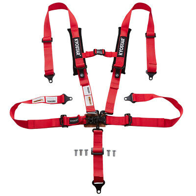 $ CDN125.36 • Buy KYOSTAR 2'' 5-Point Latch And Link Safety Harness Soft Heavy Duty Shoulder Pads