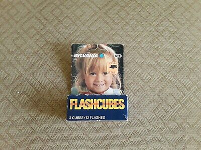 $6.95 • Buy Sylvania FlashCubes Flash Cubes 3- Pack (12 Total Flashes) New !!!! 9-2