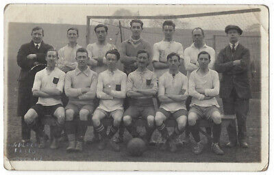 SOCIAL HISTORY Football Team Group By Goals, RP Postcard By Flecks Of Woolwich • 6.95£