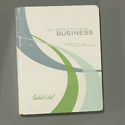 £13.43 • Buy International Business By Charles W. L. Hill (2008, Hardcover)