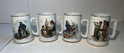 $ CDN20.69 • Buy Norman Rockwell Museum Nautical Mugs - Vintage 1985 Steins Cups Tankards