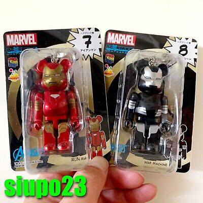 $89.99 • Buy Medicom 100% Bearbrick ~ Marvel Be@rbrick Iron Man & War Machine 2pcs