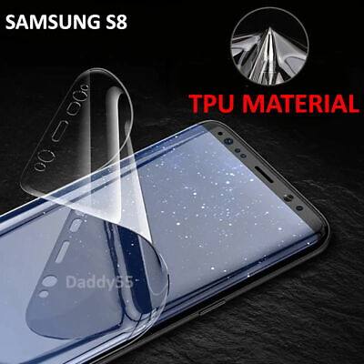 $ CDN4.04 • Buy For Samsung Galaxy S8 S9 Plus - 100% Genuine TPU Screen Protector - Clear