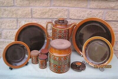 Retro Vintage  Hornsea 'Bronte' Design Tableware Made In England Late 1960/70's • 16.50£