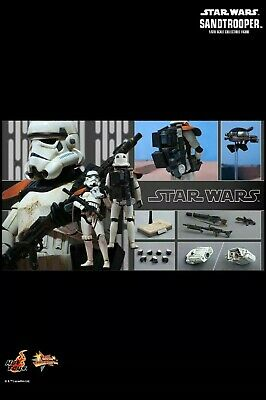 AU525 • Buy Star Wars HOT TOYS MMS295 902414 Sandtrooper 1:6 Scale Figure A New Hope Mint