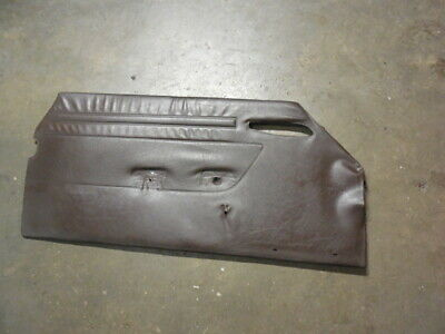$35 • Buy 81-89 Mercedes R107 SL-Class LH Driver Interior Door Panel Brown