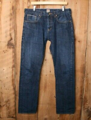 PRPS Demon Fit Blue 13.75 Oz. Selvedge Denim Jeans Sz. 34 (33.75  Inseam) • 57.18£