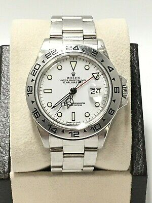 $ CDN10862 • Buy Rolex Explorer II 16550 White Dial Stainless With Box UNPOLISHED Collectible