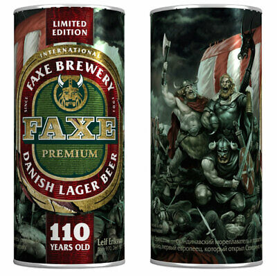 $ CDN42.31 • Buy EXTRA RARE SERIES EXCLUSIVE BEER CAN Faxe Limited Edition 110 Years Old Russian
