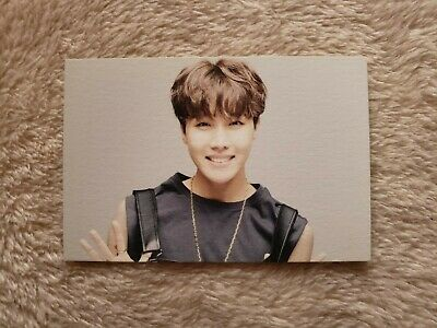 $7 • Buy BTS Official 2016 HYYH On Stage Epilogue Concert Mini Photocard Hoseok J-hope