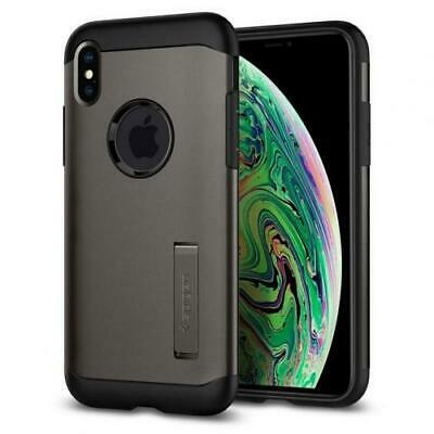 AU25.63 • Buy Spigen IPhone XS Max (6.5 ) Slim Armor Case,Gunmetal DROP-TESTED MILITARY GRADE,