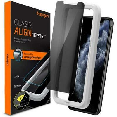 AU34.48 • Buy Spigen IPhone 11 Pro/XS/X (5.8 ) Premium Privacy Tempered Glass Screen Protector