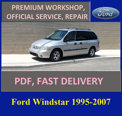$9.50 • Buy Advice Service And Repair Manual Ford Windstar 1995-2007