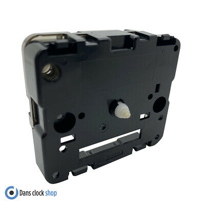 New Replacement Seiko Carriage Clock Movement Bell Alarm 6.2mm Plastic Shaft • 12.99£