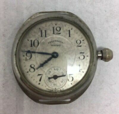 Ingersol 1920's Trench Style Wrist Watch Year 1924 SN #66855392 • 25£