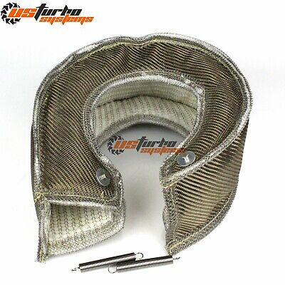 AU50.28 • Buy T6 Inlet Turbo S400 S475 S480 Turbo Heat Shield Blanket Turbocharger Cover Wrap