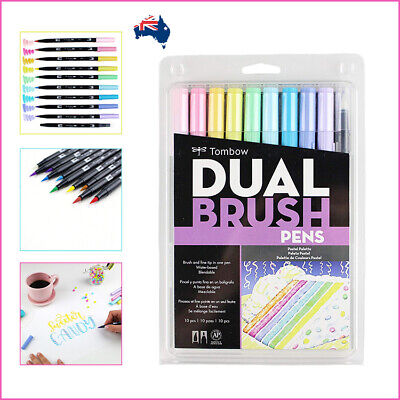 AU35 • Buy Tombow Dual Brush Pens Pastel Palette - Set Of 10 Art Markers