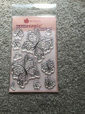Woodware Stamps Clear Magic • 0.99£
