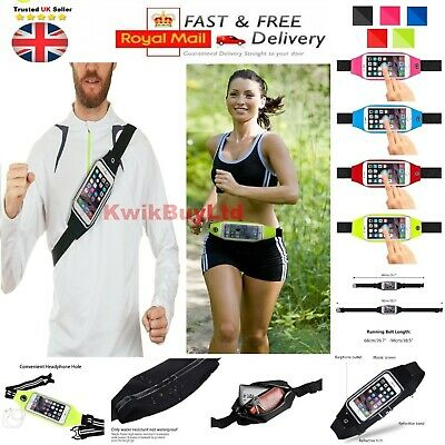 Sony Xperia 1 II Case - Sports Running Jogging Fitness Exercise Gym Waist Holder • 4.49£