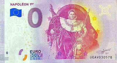 Ticket 0 Euro Napoleon 1ER The Invalides France 2020 Number Various • 5.95£
