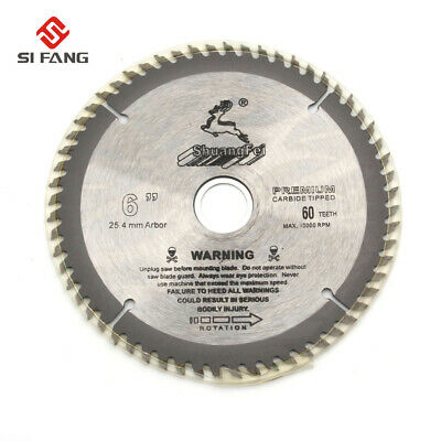 £8.94 • Buy 6'' Pro Circular Saw Blade Discs Wood Plastic Cutting F Angle Grinder Cutter 60T