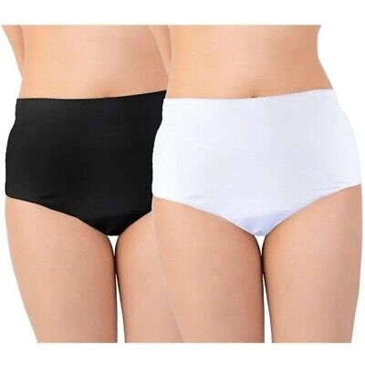 £10.99 • Buy NEW Ladies INCONTINENCE BRIEFS WASHABLE WITH PAD Briefs Pants Knickers Hospital