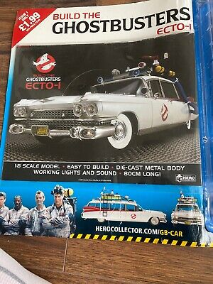 BUILD THE GHOSTBUSTERS ECTO-1 - Issue #1 (BRAND NEW/SEALED) • 6.80£