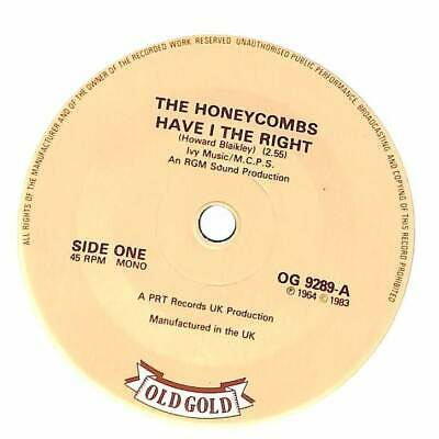 The Honeycombs - Have I The Right  - 7  Record Single • 4.04£