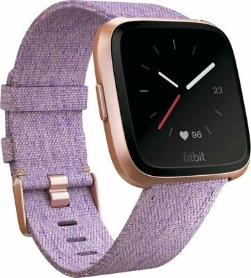 $ CDN211.15 • Buy Fitbit Versa Special Edition Fitness Smartwatch Lavender Woven S + L Sizes New