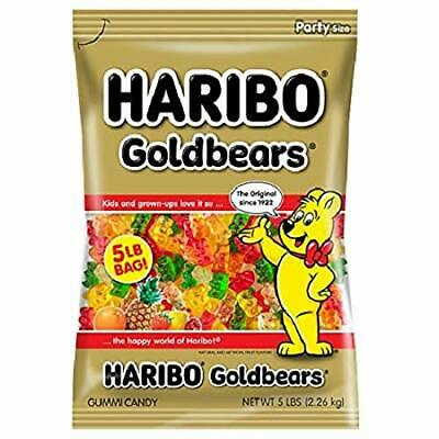 $21.68 • Buy Haribo Gummi Candy, Goldbears Gummi Candy, 5 Pound Bag