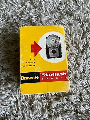 $ CDN7.04 • Buy VINTAGE KODAK BROWNIE STARFLASH CAMERA  Box