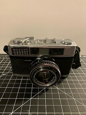 $ CDN22.51 • Buy Vintage. MINOLTA AL-F 35mm Camera Easy Flash. Rare