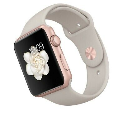 $ CDN112.61 • Buy Apple Watch Series 1 42mm Aluminum Case Rose Gold W/extra Band