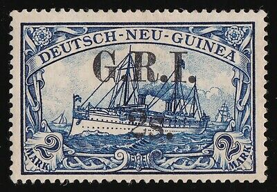AU11049.99 • Buy NEW GUINEA GRI 1914  GRI 2S  On Yacht DNG 2Mk VARIETY LARGE S PHOTO CERTIFICATE