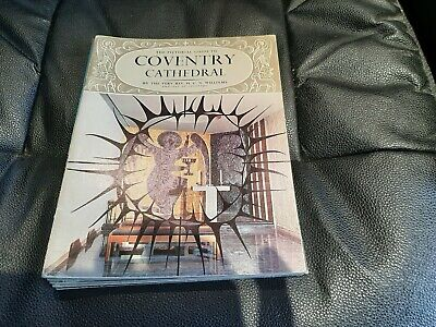 Coventry Cathedral 1967 Pitkin Guide • 2.95£