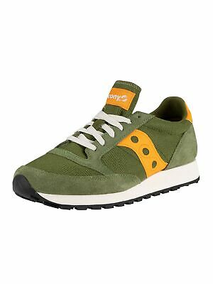 Saucony Men's Jazz Original Vintage Trainers, Green • 67.95£