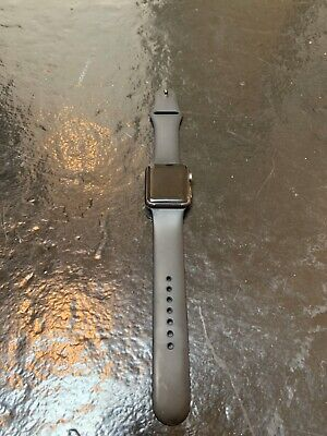 $ CDN70.50 • Buy Apple Watch Series 1 38mm Space Gray Aluminum Case Black Sport Band W/ Charger