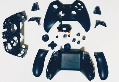 $9.99 • Buy Full Replacement Parts OEM Original Xbox One Controller Shell Case Black 1537