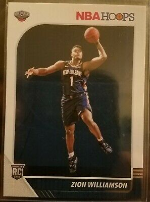 $22.99 • Buy 2019-20 NBA Hoops RC Zion Williamson Rookie Card #258 New Orleans Pelicans 🔥🔥