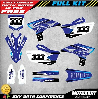 AU179.90 • Buy Custom Decal Kit To Fit Yamaha YZ 250F 2010 - 2013 Models TORNADO STYLE Stickers